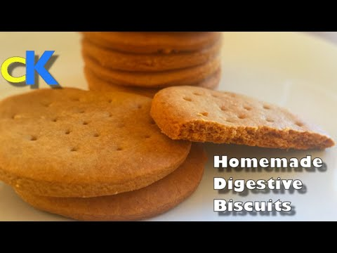 Digestive Biscuits (Recipe)