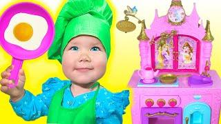 Песня про детское кафе для малышей от папы | Песни для детей с Василисой