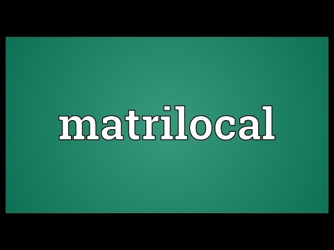 Header of matrilocal