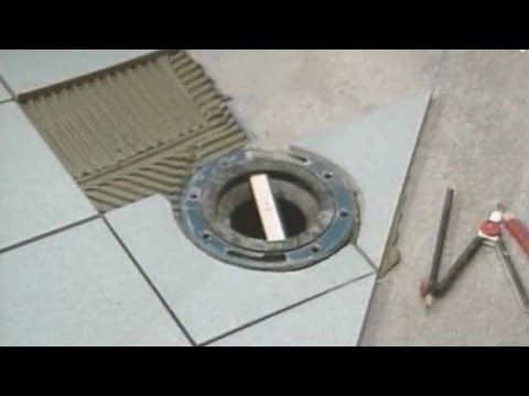 Toilet Flange Level With Tile   YouTube Part 42