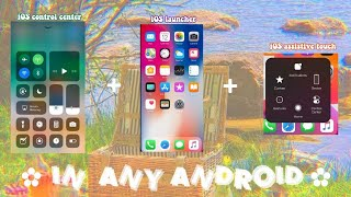 iOS 15 launcher+control center+assistive touch on any android Device || 1 app needed screenshot 3