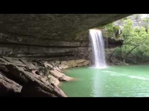 Hamilton Pool Preserve - Austin Texas Waterfalls - Hyperlapse