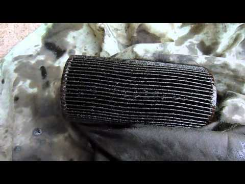 How to change an oil filter (Renault Laguna)