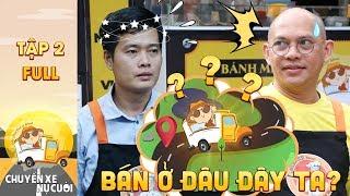 Chuyến xe nụ cười | Tập 2 Full: Color Man, Khương Dừa gặp sự cố bất ngờ khi tìm địa điểm bán bánh mì