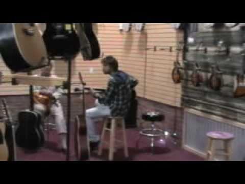 gibson guitar shop nashville youtube. Black Bedroom Furniture Sets. Home Design Ideas