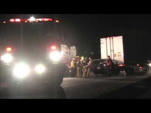 Fatal Crash Involving A Minivan & A Semi Truck - CHP Investigation Underway