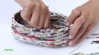 Repeat youtube video TUTKI™ TUTORIAL Oval basket