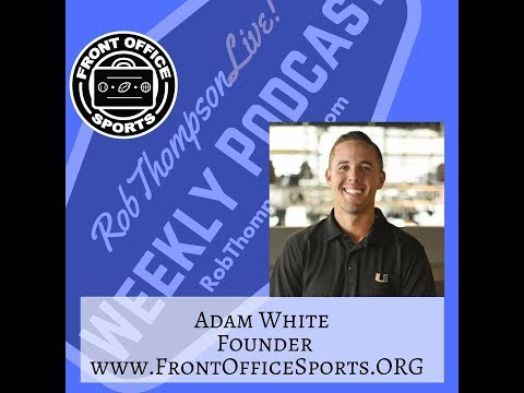 Adam White - Founder / CEO Front Office Sports - YouTube