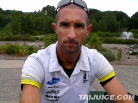 Matt Reed Interview - Pre-2012 Life Time Fitness Triathlon Minneapolis