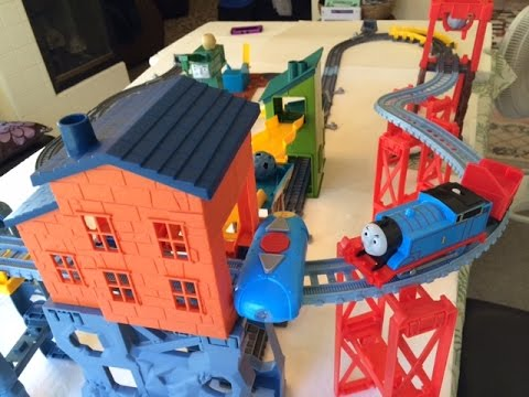 Big New Thomas And Friends Trackmaster Mad Dash On Sodor Set 5 Feet