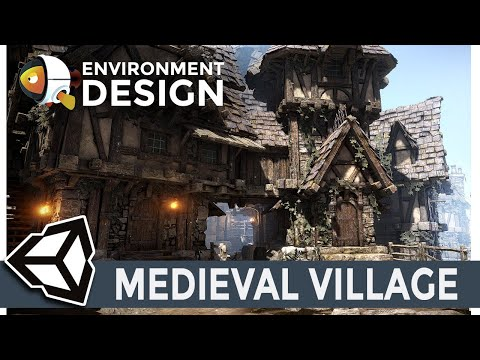 Unity3D Medieval Village: Design tutorial & demo 01 thumbnail