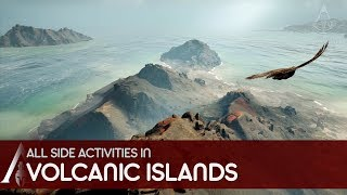 Assassin's Creed Odyssey - All side activities in Volcanic Islands (Thera, Anaphi & Nisyros)
