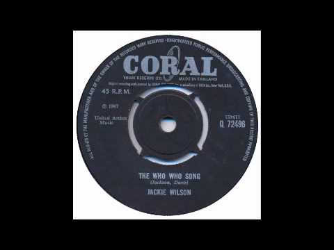 Jackie Wilson - The Who Who Song - Coral