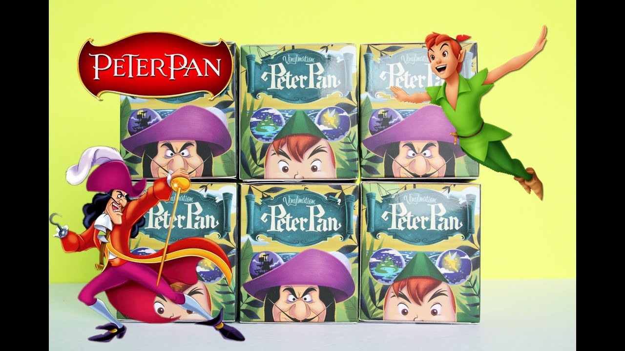 Peter Pan Vinylmations Disney Toy Unboxing Amp Review Youtube