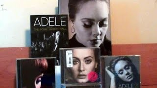 Adele 25 Unboxing + CD Collection