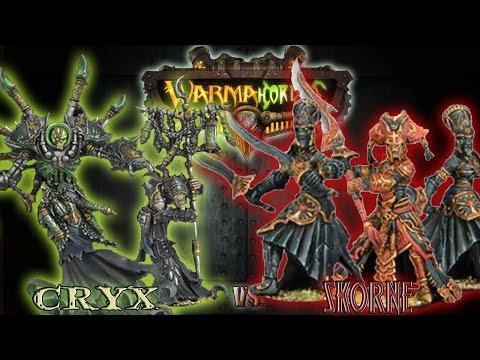 Warmachine & Hordes - Cryx (Asphyxious 3) vs. Skorne (Makeda 3) - 75pt Battle Report