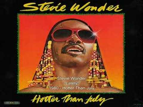 Stevie Wonder  Lately