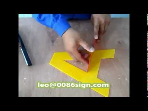 plastic letters for signs acrylic bender 3d led channel letters sign perspex 24014 | hqdefault