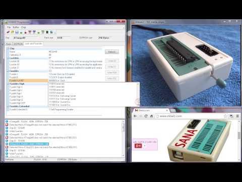SANA USBASP Programmer and 89S5x , 24Cxxx , 93cxx from