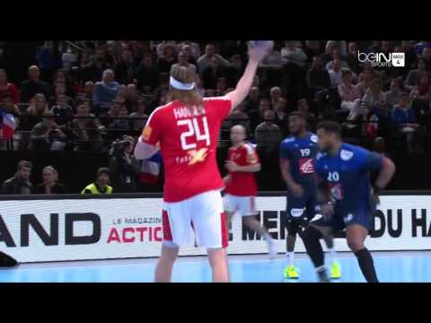 Nikola Karabatic Best Goal assits block Golden League France 36-28 Danemark - 10/01/2016