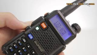 Baofeng UV-5R Dual Band 136-174/400-520MHz Two Way Ham FM Radio (Product Review)