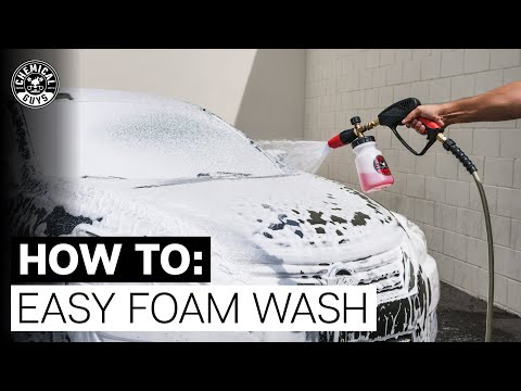 How To Easily Foam Your Car With Snubby! - Chemical Guys