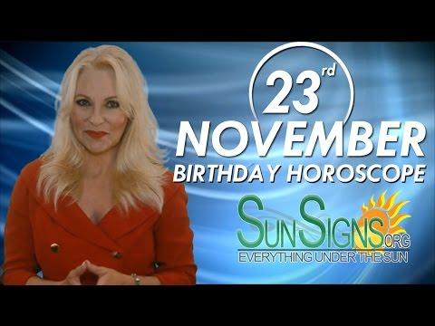 Birthday November 23rd Horoscope Personality Zodiac Sign Sagittarius Astrology