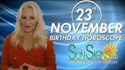 Birthday November 23rd Horoscope Personality Zodiac Sign Sagittarius Astrology