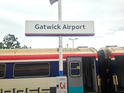 Full Journey on Gatwick Express (Class 442) from Gatwick Airport to London Victoria