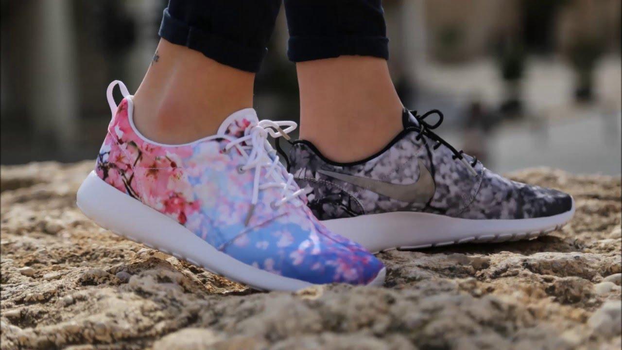 Nike Roshe Course Fleur De Cerisier