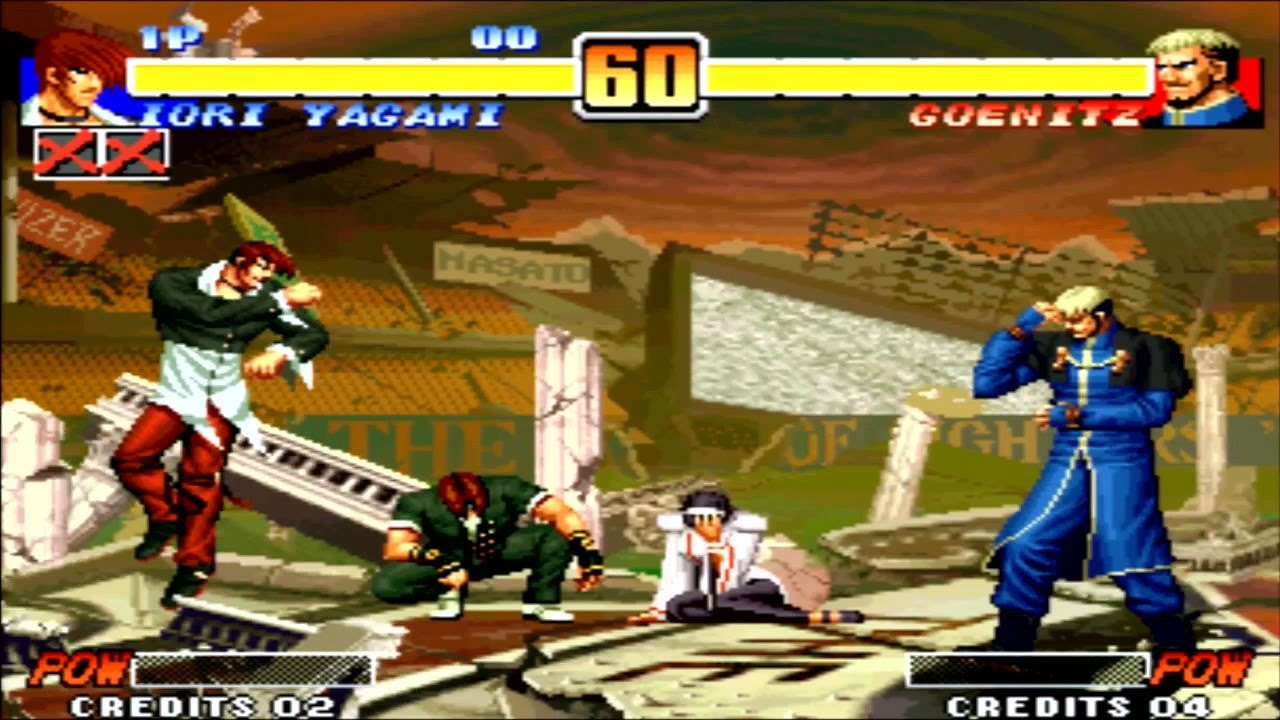 The King Of Fighters 96 Special Team Neo Geo Station Psn Ps3