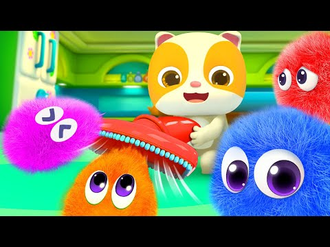 Cute Dust and Robot Cleaners | No No Song | + More Nursery Rhymes & Kids Songs | BabyBus
