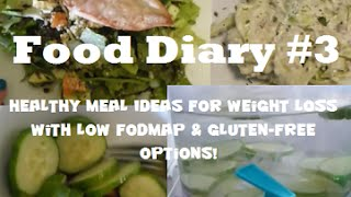 Food Diary #3 - Healthy, Gluten-Free Meals for Weight Loss! Thumbnail