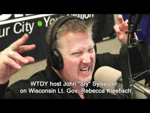 "WTDY host John ""Sly"" Sylvester Insults Wisconsin Lt. Gov. Rebecca Kleefisch"