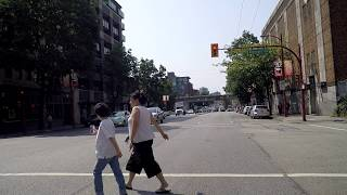 Driving in Vancouver BC Canada - MAIN Street - Tour of City 2018
