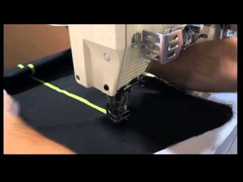 KANSAI SPECIAL WX-8803D Industrial Coverstitch Sewing Machine, 3 Needles, JAPAN
