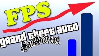 GANHO DE FPS MOD: COMO GANHAR FPS NO GTA SAN ANDREAS!! ADEUS LAG - GTA SAN ANDREAS MOD