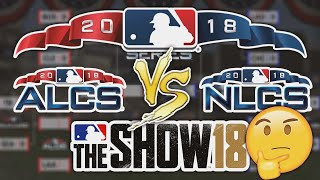 Who Does MLB The Show 18 Think Will Win The 2018 WORLD SERIES?