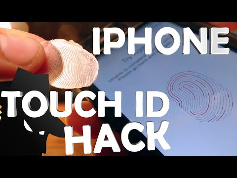 How To Copy a Fingerprint Like a Spy - iPhone Touch ID Hack!!!