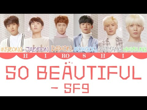 SF9 - 너와 함께라면(So Beautiful) (Color Coded Lyrics || HAN|ROM|ENG)