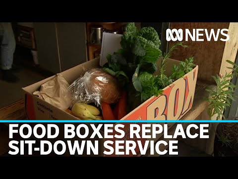 Restaurants And Cafes Swap Sit-down Service To Food Boxes | ABC News