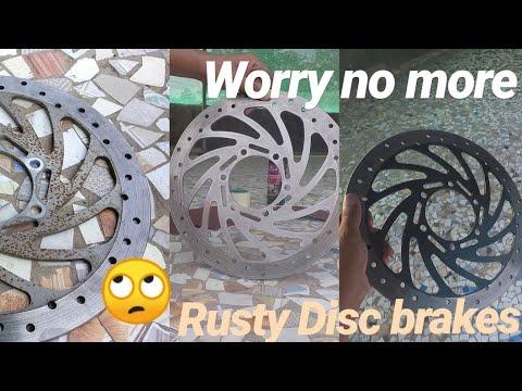 KTM Duke 390 Front Disc brake rusting issue and maintenance and restoration | disc brake rust