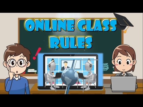 Online Classroom Rules for Students | Orientation from YouTube · Duration:  2 minutes 23 seconds