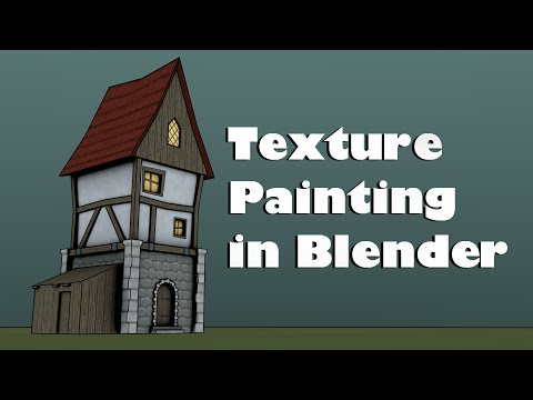 Hand Painting Tileable Textures in Blender 2.74