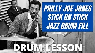 Philly Joe Jones DRUM Lick - Jazz Drum Lessons with John X