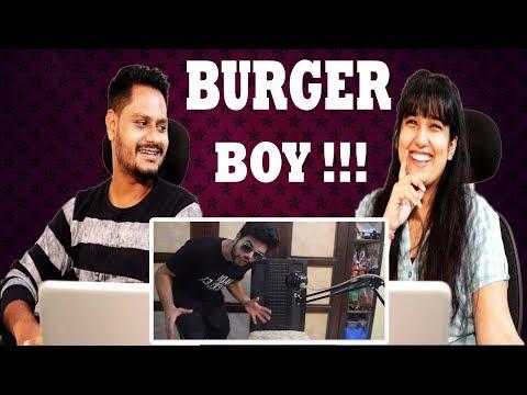 Indian Reaction On BURGER BOYS !! | Ducky Bhai | Krishna Views