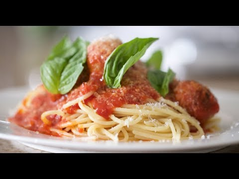 Spaghetti & Meatballs   Byron Talbott - YouTube