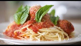 Spaghetti & Meatballs | Byron Talbott