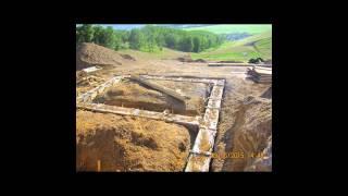 Монолитный арболит. Как это было.(Это видео создано в редакторе слайд-шоу YouTube: http://www.youtube.com/upload. Здесь будет наш дом-сад! Как строился дом из..., 2016-01-31T11:36:39.000Z)