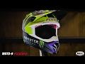 Bell Helmets Moto-9 Flex Monster Pro Circuit 17 Replica